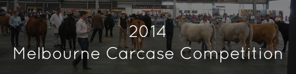 Melbourne Show – Carcase Competition